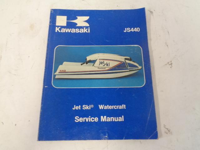 Kawasaki Jet Ski 1977-1981 JS440 OEM Service Manual Assembly # 99963-0001-05