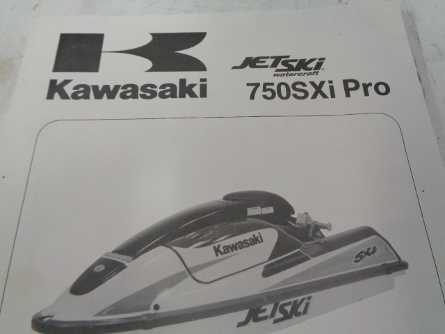 Kawasaki Jet Ski 1998 JS 750 SXI PRO OEM Service Manual Supplement 99924-1223-51