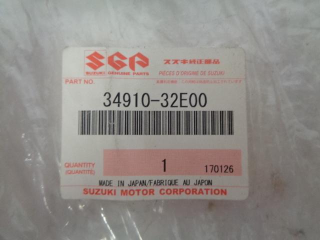 Suzuki Motorcycle 1996-2020 DRZ-400 / 650 Speedometer Cable # 34910-32E00