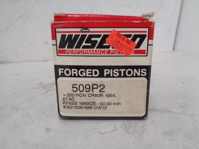 Honda Motorcycle 1984 CR 80 Weisco Piston Kit Part# 509P2