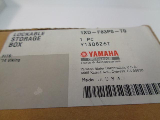 Yamaha UTV 2015-2020 Viking NEW Locking Glove Box Door Part# 1XD-F83P0-T0