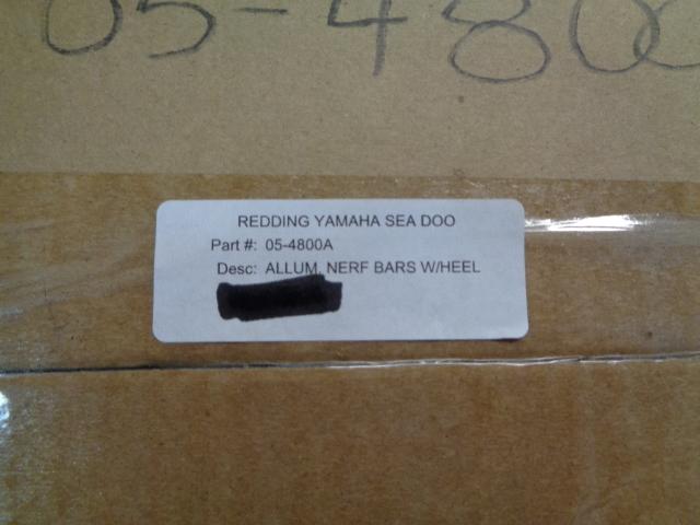 Yamaha ATV 4x4 YZF-450 Banshee AC Racing MX Pegs Kit Part# 05-4800