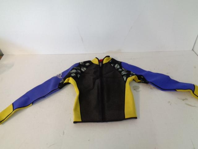 Personal Watercraft PWC New Vintage Kawasaki Wet Suit Jacket Size: Medium