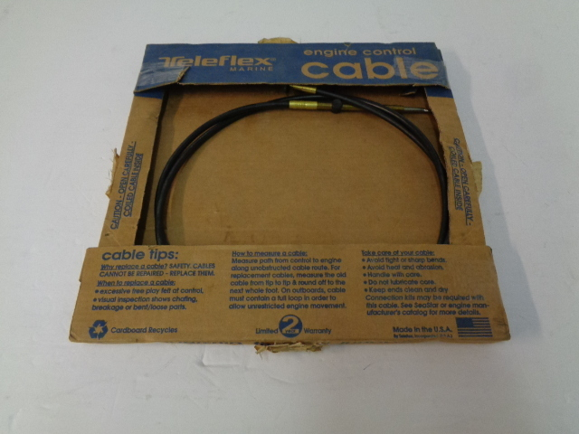 Johnson Evinrude 1979+ C14 NEW OEM Throttle / Shifter Control Cable 8' # CC63608
