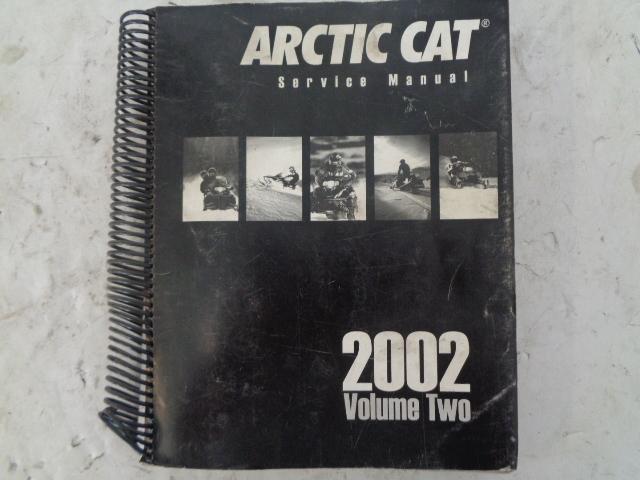 Arctic Cat 2002 Snowmobile Service Manual Volume # 2 Part# 2256-458