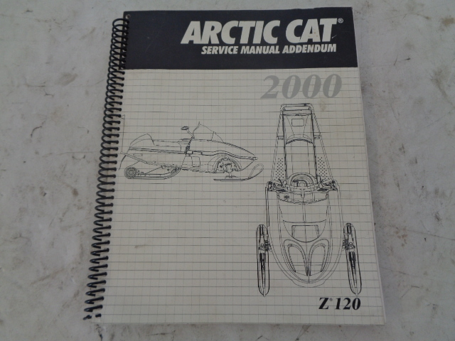 Arctic Cat 2000 Snowmobile Z 120 Service Manual  Part# 2256-253