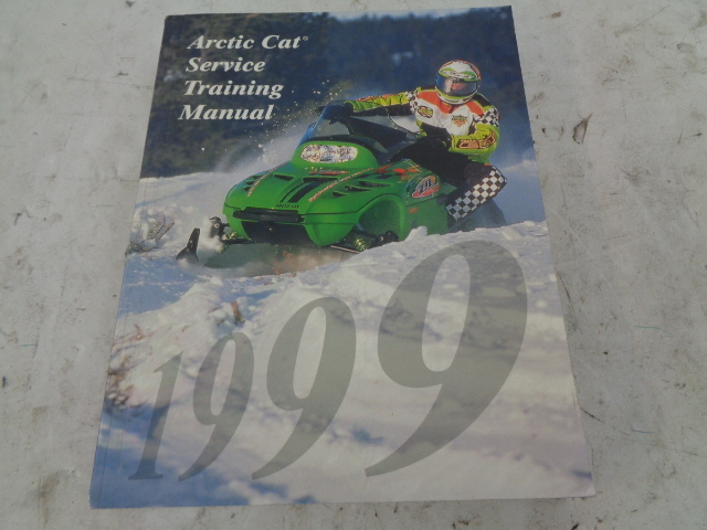 Arctic Cat 1999 Snowmobile Service Training Manual Assembly Part# 2255-024