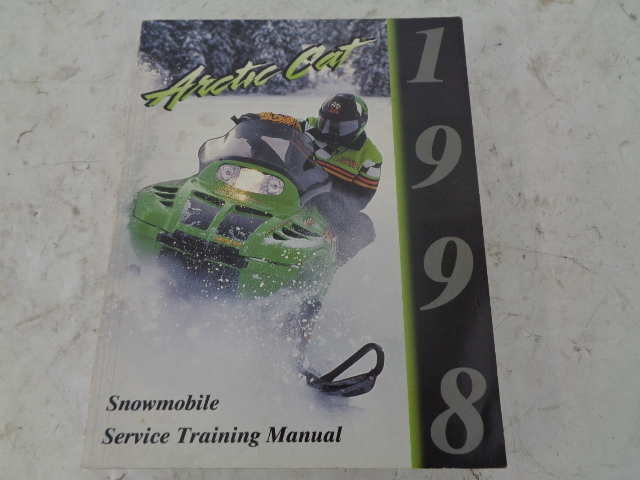 Arctic Cat 1998 Snowmobile Service Training Manual Assembly Part# 2255-773