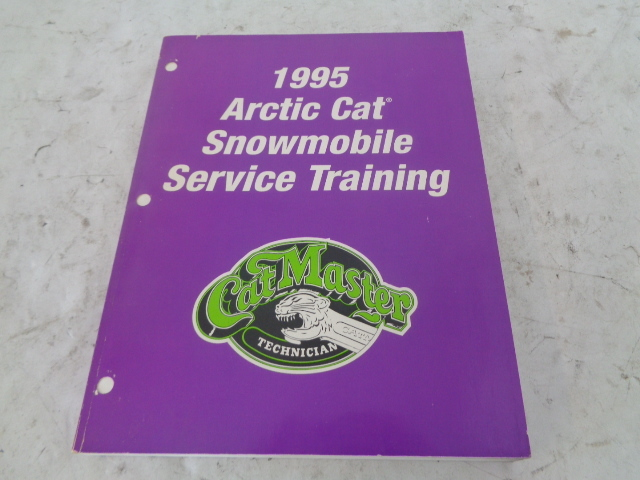 Arctic Cat 1995 Snowmobile Performance Manual Assembly Part# 2254-878