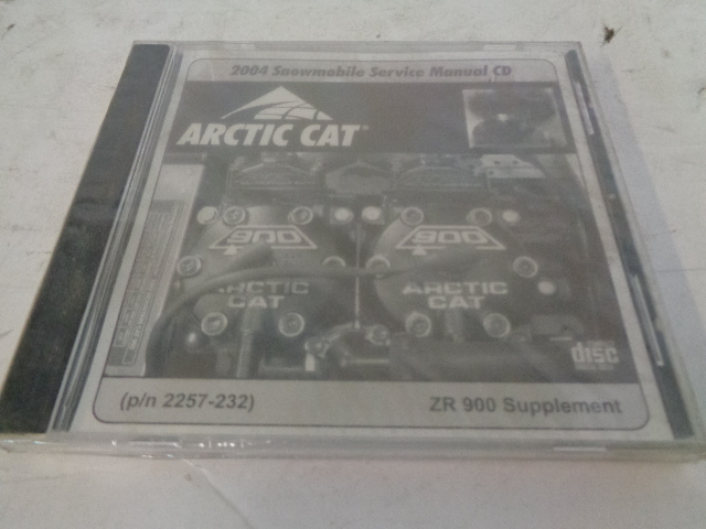 Arctic Cat 2004 Snowmobile ZR 900 Service Manual Supplement # 2257-232