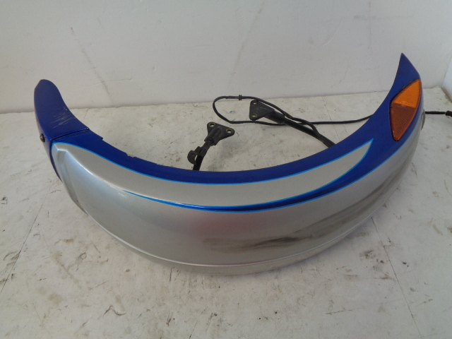 Can-Am Roadster 2008-2010 Spyder RS GS Blue LH Front Fender + Supports 705003419