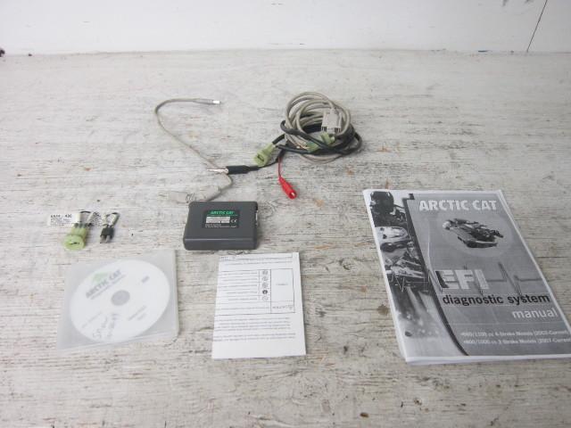 Arctic Cat OEM Service Tool : Complete CCU Diagnostic Tool Kit # 0644-517