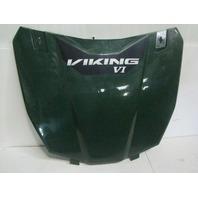 Yamaha UTV Side By Side 2014-2018 Viking Wolverine Green Hood Assembly Part# 1XD-F1982-00-00