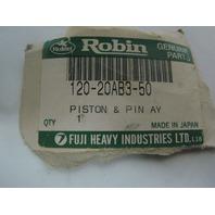 Polaris Robin Genuine Parts New Piston Assembly Part# 120-20AB3-50