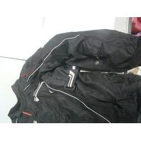 Tourmaster Advanced Textile Jacket Weather Resistant XL Black Jacket