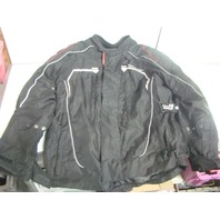 Tourmaster Advanced Textile Jacket Weather Resistant XL Black Jacket