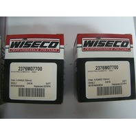 Ski-Doo Snowmobile Pro Lite 580 617 cc Wiseco Complete Piston Kit Part# SK1221