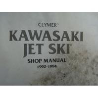 Clymer Kawasaki 92-94 440 550 650 750 OEM Shop Manual Part# 1SB-N-0-89287-644-1
