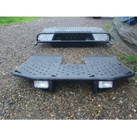 Yamaha Rhino Front & Rear Aluminum Platforms Custom Fenders With Lighting