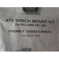Cycle Country Polaris 09-11 Sportsman 550 850 ATV Winch Mount Kit Part# 25-3320