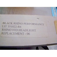Yamaha Black Rhino HIDRH Halogen Headlight Kit LIT 351022-R6 New