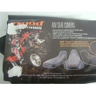 Polaris ATV 4x4 08-2009 Sportsman 300 Quadworks Black Seat Cover # 30-5300801-01