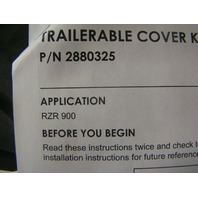 Polaris UTV Side By Side 2014-19 RZR 900 Trailerable Storage Cover Part# 2880325