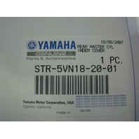 Yamaha Motorcycle 1999-2008 Chrome Rear Master Cylinder Cover STR-5VN18-20-01