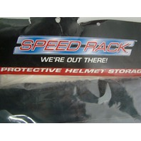 Motorcycle Helmet Wall Mount Storage Bag Speed Racing Protective Helmet Locker