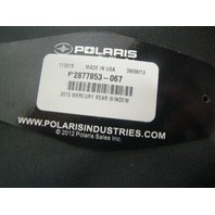 Polaris UTV Side By Side  Ranger 400 Rear Window Panel Part# 2877853-067 NEW