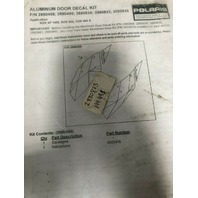 Polaris RZR 900 XP 1000 UTV Aluminum Door Decal Kit Part# 2880873 OEM NEW