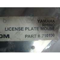 Yamaha UTV Side By Side UTV Tech Differential Protector and License Plate Mount