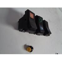 Polaris UTV Side By Side 2008-2010 RZR 800 EFI Dash Switch Set 4011500 4010601