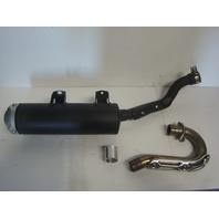 Yamaha ATV 4x4 2014-2020 YFZ 450 Take Off Exhaust Part# 1TD-E4703-00-00