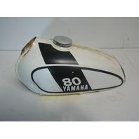 Yamaha Motorcycle / Dirt Bike 1975 MX 80 OEM Orignal Fuel Tank Assembly