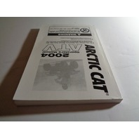 Arctic Cat ATV UTV 2004 ATV Operator Manual NEW Part# 2256-934