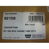 Yamaha Side By Side UTV 2013 Viking Warn Winch Mount Assembly # 374510