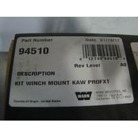 Kawasaki UTV Side By Side 2015-2017 Mule Pro FXT Warn Winch Mount 94510