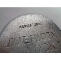 American Lock Series 2000 Heavy Duty Security Lock With 6 Pin Tumbler With Key