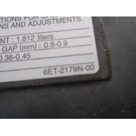 Yamaha Waverunner 2012-2020 FX HO FX  VXS VXR Valve Cover # 6BH-11191-20-00