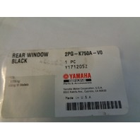 Yamaha UTV 2014-2019 Viking NEW Soft  Rear Windscreen # 2PG-K750A-V0-00