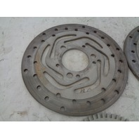 Can-Am Roadster 08-2012 Spyder RS GS Front Brake Disc Set + ABS Plates 705600435