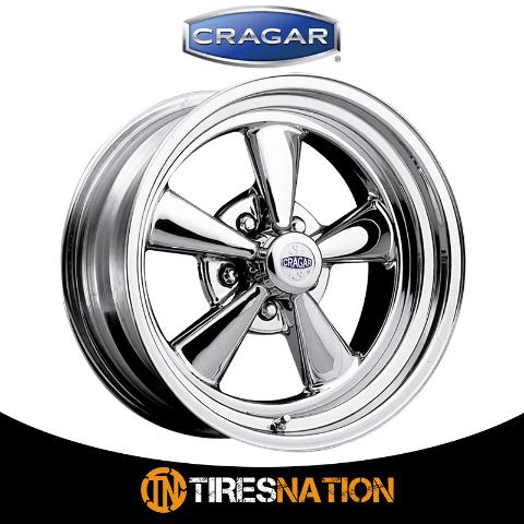 08850 Cragar Wheel Wheel 15 Inch Diameter x 8 Inch Width