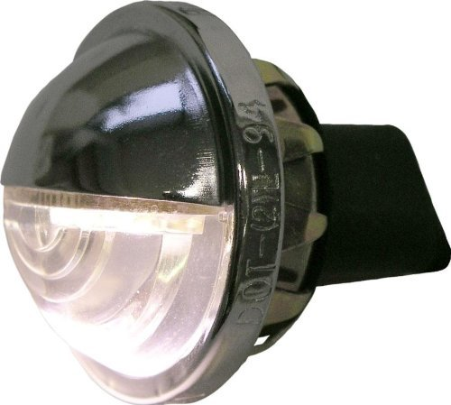 Peterson Mfg V435 Chrome License Plate Surface Mount Light