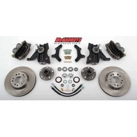 "McGaughys 33159 Front Disc Brake Kit 13"" Rotors for 1973-1987 GM C-10 Truck"