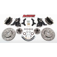 "McGaughys 63150 Front Disc Brake Kit 13"" Rotors for 1963-1970 GM C-10 Truck"