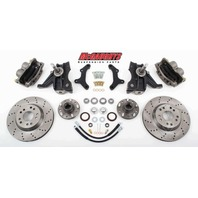 "McGaughys 63155 Front Disc Brake Kit 13"" Rotors for 1971-1972 GM C-10 Truck"