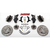 "McGaughys 63255 Front Disc Brake Kit 13""Rotors for 1955-1957 Fullsize Chevy Car"