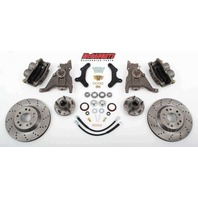 "McGaughys 64078 Front Disc Brake Kit 13"" Rotors for 1970-1978 Chevy Camaro"