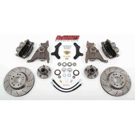 "McGaughys 64080 Front Disc Brake Kit 13"" Rotors for 1979-1981 Chevy Camaro"